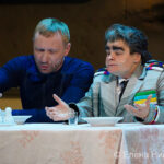 Генеральный секретарь ЦК КПСС и американский супергерой встретились на сцене Театра на Малой Бронной